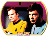 Star Trek: The Original Series, Captain Kirk and Dr. McCoy Photo
