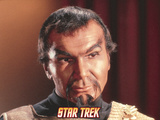 "Star Trek: The Original Series, Klingon in ""Errand of Mercy"" Print"