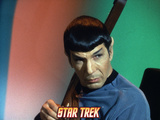 Star Trek: The Original Series, Spock Playing a Stringed Instrument Print