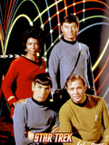 Star Trek: The Original Series, Captain Kirk, Spock, Uhura and Dr. McCoy Photo