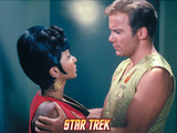 "Star Trek: The Original Series, Kirk and Uhura in ""Mirror, Mirror"" Photo"