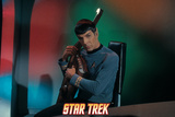 Star Trek: The Original Series, Spock Playing a Stringed Instrument Posters