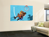 Oklahoma City Thunder v New Orleans Hornets: James Harden and D.J. Mbenga Prints by  Chris