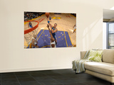 Golden State Warriors v Los Angeles Lakers: Andris Biedrins and Lamar Odom Posters by Noah Graham