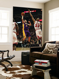 Los Angeles Lakers v Chicago Bulls: Steve Blake and Taj Gibson Print by  Jonathan