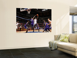 Sacramento Kings v Los Angeles Clippers: Al-Farouq Aminu and Donte Greene Prints by Noah Graham