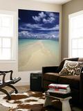 Beach in Palau Posters af Nik Wheeler