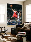 New Jersey Nets v Utah Jazz: Devin Harris and Al Jefferson Print by Melissa Majchrzak