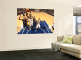 Atlanta Hawks v Indiana Pacers: Roy Hibbert and Al Horford Prints by Ron Hoskins