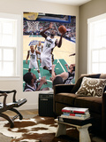 San Antonio Spurs v Utah Jazz: Francisco Elson and Manu Ginobili Print by Melissa Majchrzak