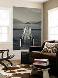 Lake Pier, Tremezzo, Como Province, Italy Art by Walter Bibikow