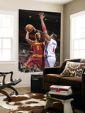 Cleveland Cavaliers v Detroit Pistons: Daniel Gibson and Tracy McGrady Prints by Allen Einstein