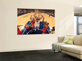 Los Angeles Clippers v Indiana Pacers: Tyler Hansbrough and Eric Bledsoe Posters by Ron Hoskins