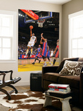 Detroit Pistons v Golden State Warriors: Rodney Carney Print by Rocky Widner