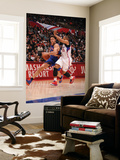 New York Knicks v Los Angeles Clippers: Danilo Gallinari and Eric Gordon Prints by Noah Graham