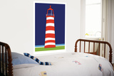 Phare rouge Posters par  Avalisa