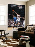Dallas Mavericks v Atlanta Hawks: Brendan Haywood and Al Horford Print by Scott Cunningham