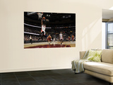 Miami Heat v Cleveland Cavaliers: Dwyane Wade, LeBron James and Anthony Parker Prints by David Liam Kyle