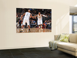 Los Angeles Clippers v Denver Nuggets: Chauncey Billups and J.R. Smith Prints by Garrett Ellwood