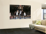 Miami Heat v Dallas Mavericks: Chris Bosh and Ian Mahinmi Posters by Glenn James