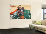 Milwaukee Bucks v Utah Jazz: Al Jefferson and John Salmons Poster by Melissa Majchrzak