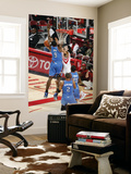 Oklahoma City Thunder v Houston Rockets: Serge Ibaka and Luis Scola Posters by Bill Baptist