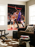 Los Angeles Lakers v Chicago Bulls: Joakim Noah and Lamar Odom Print by Andrew Bernstein