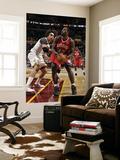 Philadelphia 76ers v Cleveland Cavaliers: Elton Brand and Anderson Varejao Print by David Liam Kyle