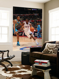 New Orleans Hornets v Los Angeles Clippers: Al-Farouq Aminu and Trevor Ariza Prints by Noah Graham