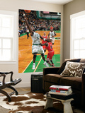 Chicago Bulls v Boston Celtics: Kevin Garnett and Luol Deng Posters by Brian Babineau