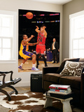 Chicago Bulls v Los Angeles Lakers: Kyle Korver and Shannon Brown Prints by Noah Graham
