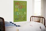 Green Rainbow Alphabet Poster par  Avalisa