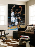San Antonio Spurs v New Orleans Hornets: Richard Jefferson and Emeka Okafor Print by Layne Murdoch
