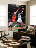 Chicago Bulls v Boston Celtics: Kevin Garnett and Joakim Noah Posters by Brian Babineau