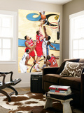 Philadelphia 76ers v Washington Wizards: Spencer Hawes and Andray Blatche Prints by Ned Dishman