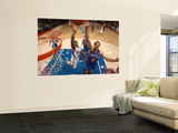 New York Knicks v Los Angeles Clippers: Landry Fields and Eric Bledsoe Prints by Noah Graham