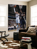 Utah Jazz v Dallas Mavericks: Shawn Marion and Al Jefferson Print by Glenn James