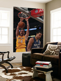 Washington Wizards v Los Angeles Lakers: Pau Gasol and Javale McGee Posters by  Jeff