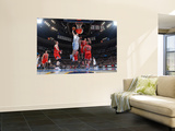 Chicago Bulls v Denver Nuggets: Chris Andersen and Joakim Noah Print by Garrett Ellwood
