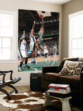 Milwaukee Bucks v Utah Jazz: Brandon Jennings and Earl Watson Prints by Melissa Majchrzak