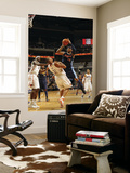 Denver Nuggets v Charlotte Bobcats: Boris Diaw and Carmelo Anthony Prints by Kent Smith