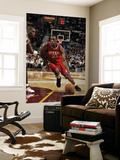 Philadelphia 76ers v Cleveland Cavaliers: Thaddeus Young and Antawn Jamison Posters by David Liam Kyle