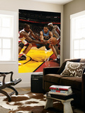 Washington Wizards v Miami Heat: JaVale McGee, Joel Anthony and LeBron James Prints by Issac Baldizon
