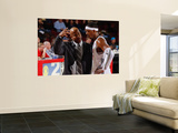 Texas Legends v Idaho Stampede: Randy Livingston and Walter Sharpe Print by Otto Kitsinger
