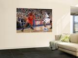 Houston Rockets v Dallas Mavericks: Jermaine Taylor and Dominique Jones Prints by Danny Bollinger