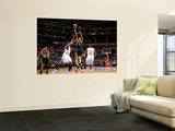 San Antonio Spurs v Los Angeles Clippers: George Hill, DeAndre Jordan and Baron Davis Print by Noah Graham