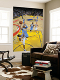 Denver Nuggets v Golden State Warriors: Carmelo Anthony and Reggie Williams Prints by Rocky Widner