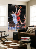 Chicago Bulls v Denver Nuggets: Joakim Noah and Chris Andersen Posters by Garrett Ellwood
