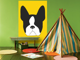 Yellow Boston Terrier Posters par  Avalisa
