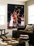 Phoenix Suns v Portland Trail Blazers: Marcus Camby, Dante Cunningham and Goran Dragic Posters by Sam Forencich